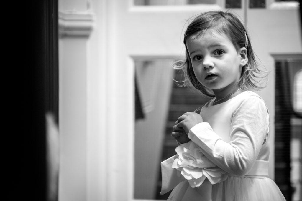 daughter into camera