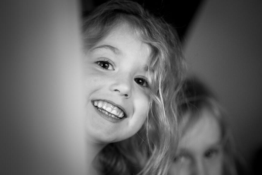 Little bridesmaid at Holmbush House