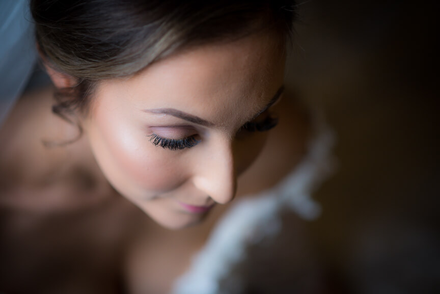 Bridal portrait at Holmbush House