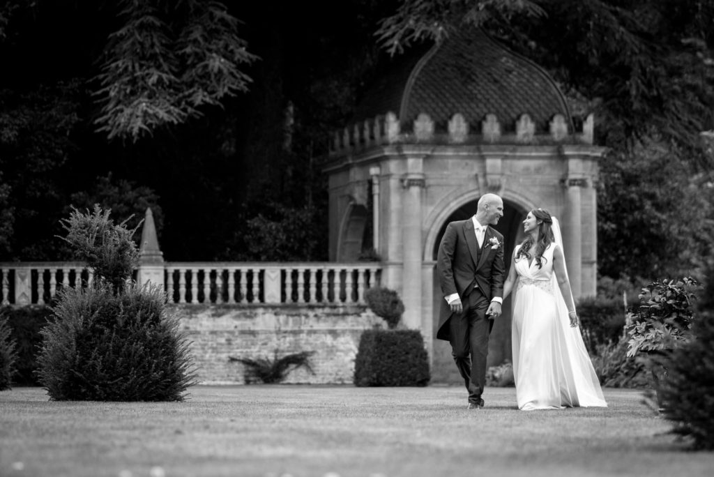 Tylney Hall Garden Wedding