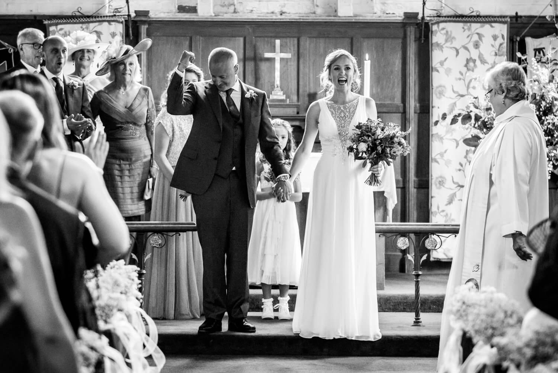 Hannah and Shaun's Axford Wedding, Wiltshire