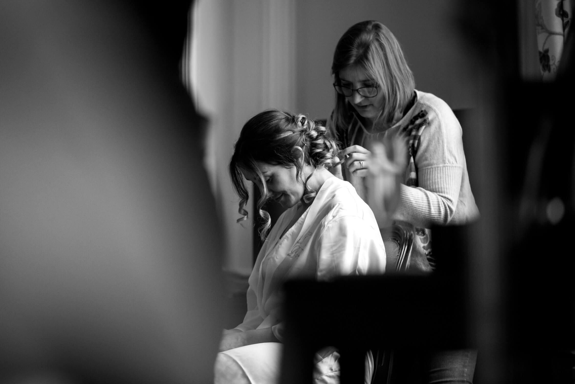 Bridal Preparations at Tylney Hall