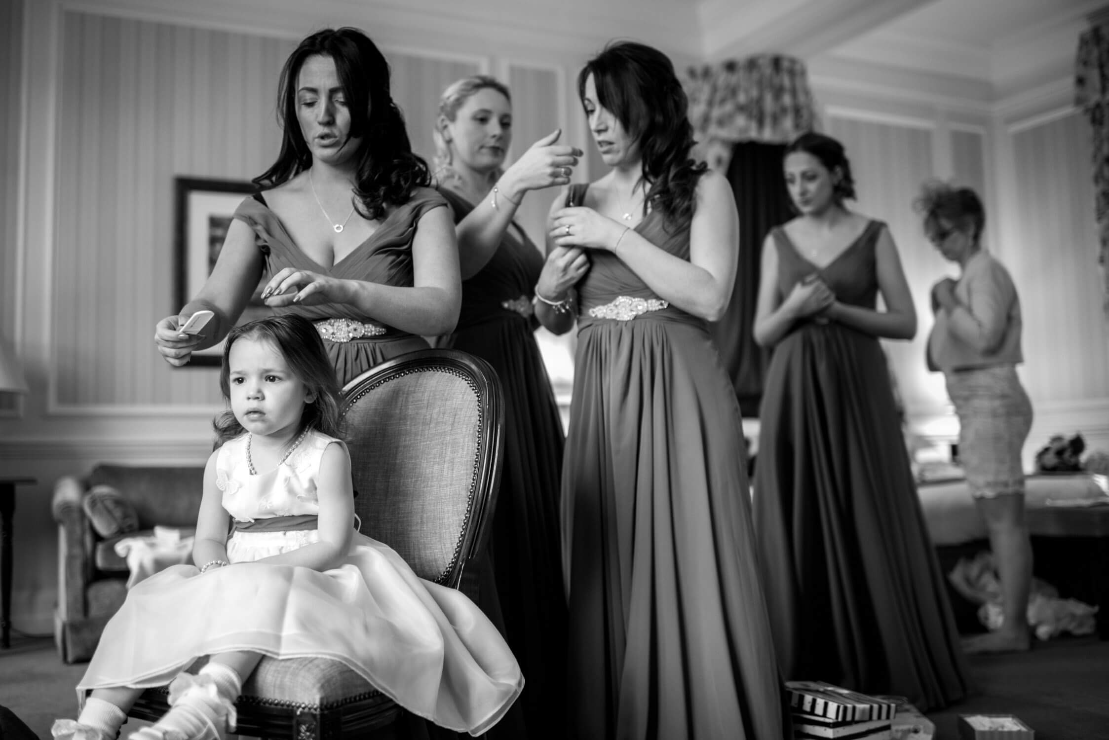 Tylney Hall Bridal Party
