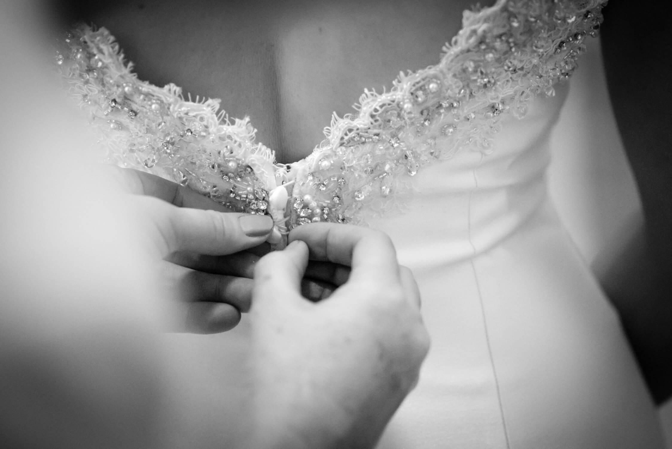 Wedding Dress at Tylney Hall