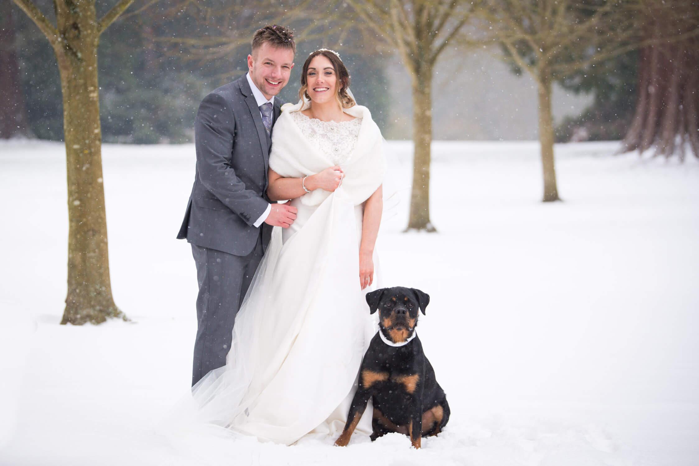 Winter Wedding at Tylney Hall