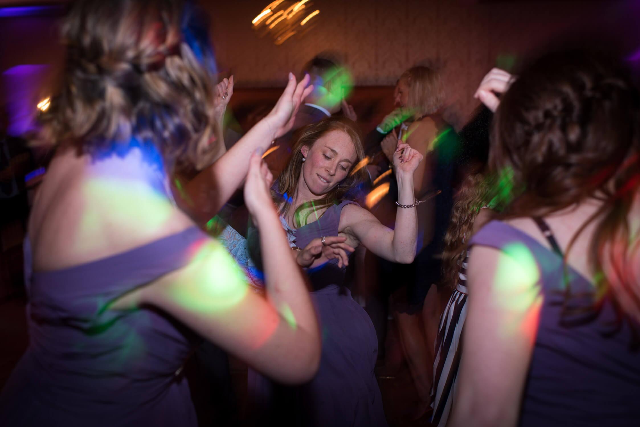 dancefloor at tylney hall