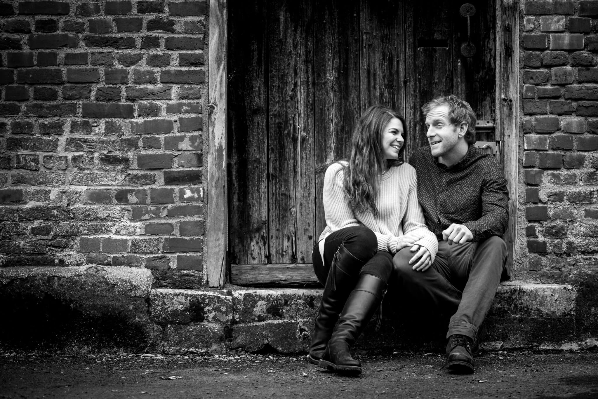 beautiful engagement shoot at dorney court