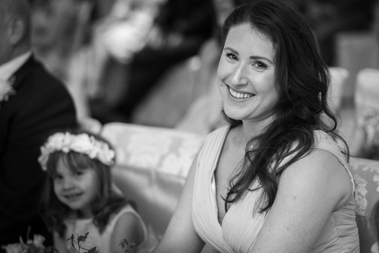Bridesmaid at Ashdown Park Hotel