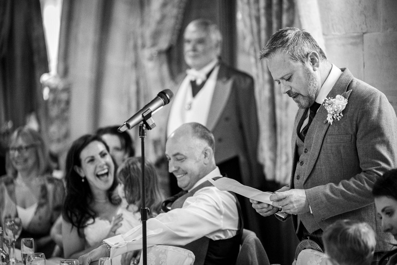 best man speech at Ashdown Park Hotel wedding