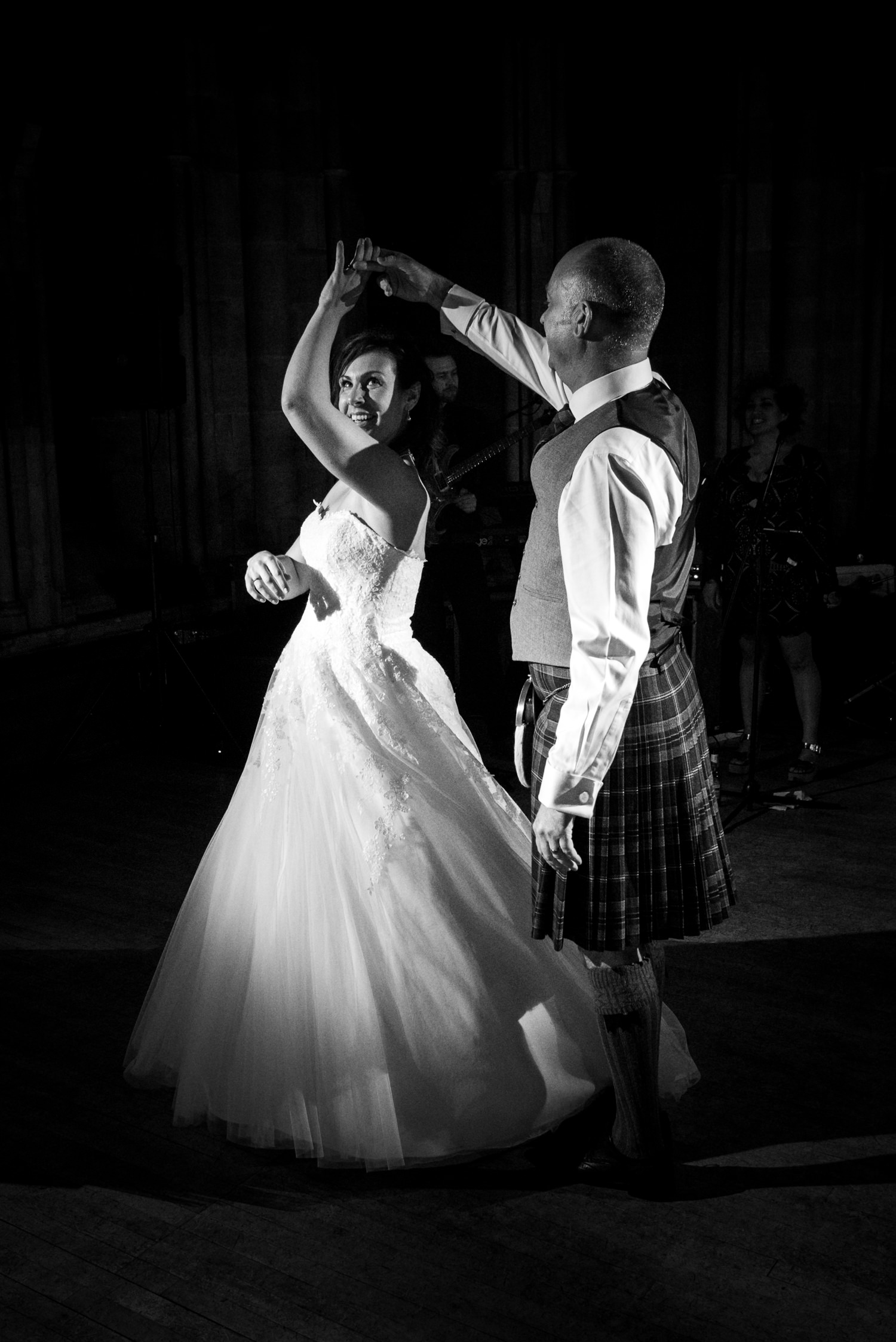 First dance at Ashdown Park Wedding